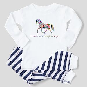 Rainbow pony Toddler Pajamas