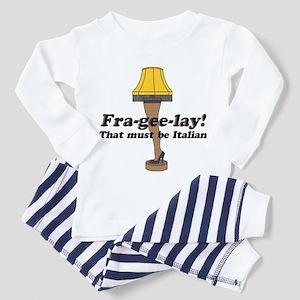 Fra-gee-lay! Leg Lamp Toddler Pajamas