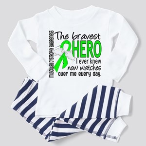 Bravest Hero I Knew Muscular Dystrophy Toddler T-S