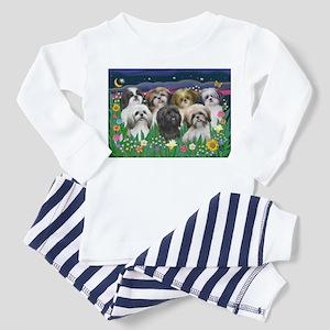 7 Shih Tzu Cuties Toddler Pajamas