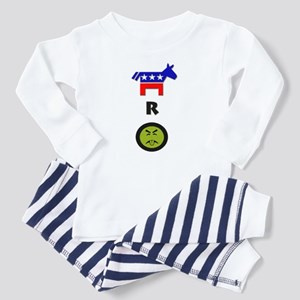 Democrats R Yukky Infant Pajamas