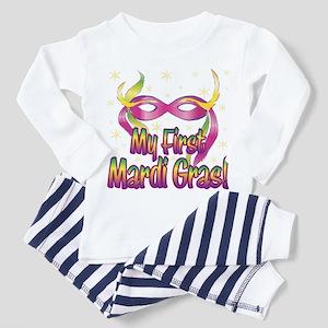 MY FIRST MARDI GRAS! Toddler Pajamas
