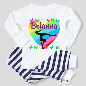 PERSONALIZE GYMNAST Toddler Pajamas