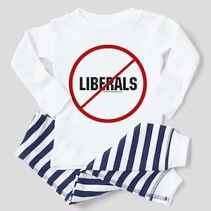 No Liberals Toddler Pajamas