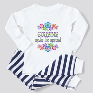 Cousins Make Life Special Toddler Pajamas
