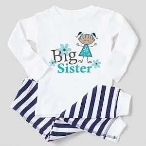 Ethnic Big Sister Toddler Pajamas