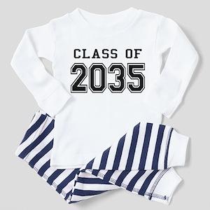 Class of 2035 Toddler Pajamas