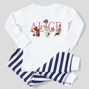ALICE & FRIENDS IN WONDERLAND Toddler Pajamas