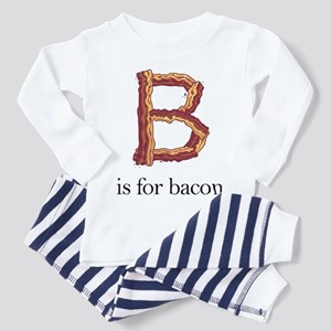 B is for bacon (Toddler Pajamas)