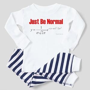 Be Normal Toddler Pajamas