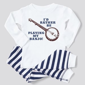I'd Rather Be Playing My Banjo Toddler T-Sh