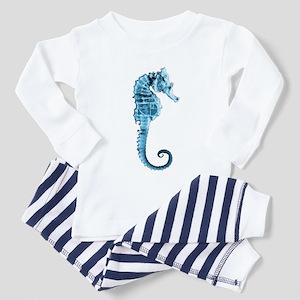 Fringe seahorse Toddler Pajamas
