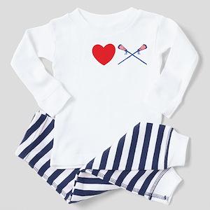 lacross13black Toddler Pajamas