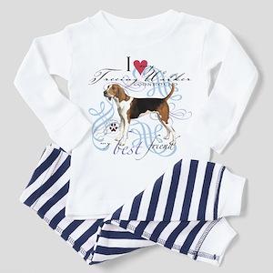Treeing Walker Toddler Pajamas