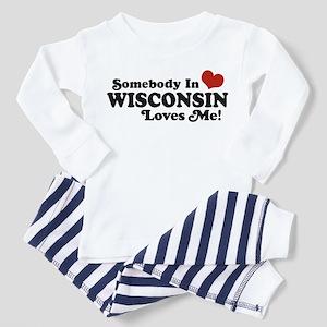 Somebody In Wisconsin Loves Me Toddler T-Sh