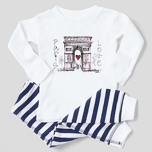 Paris with love Pajamas