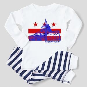 Washington DC Toddler Pajamas