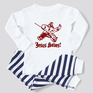 Jeses Saves Goal Toddler Pajamas