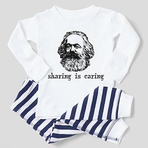 Marx: Sharing is Caring Toddler Pajamas