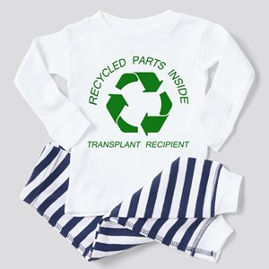 Recycled Parts Inside Toddler Pajamas