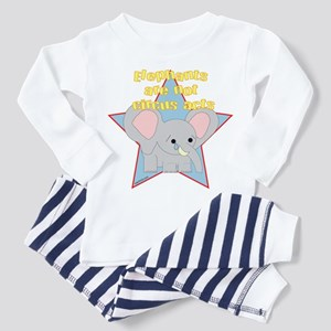 Ellie the Elephant Not a Circ Toddler T-Shi