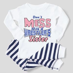 Wrestler's Sister Toddler Pajamas