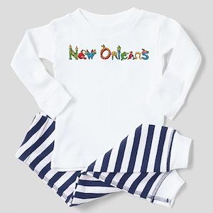 New Orleans Toddler Pajamas