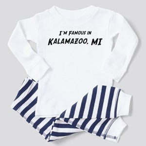 Famous in Kalamazoo Toddler Pajamas