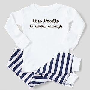 One Poodle Toddler Pajamas
