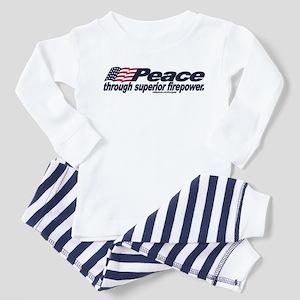 Superior Firepower Toddler Pajamas
