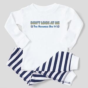 Havanese Toddler Pajamas