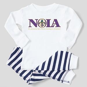 NOLA Mardi Gras Toddler Pajamas