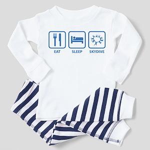 Eat Sleep Skydive Toddler Pajamas