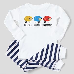 Star Trek Sheep Toddler Pajamas