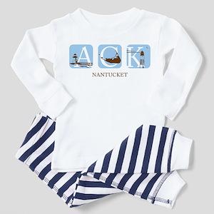 Nantucket Island Toddler Pajamas