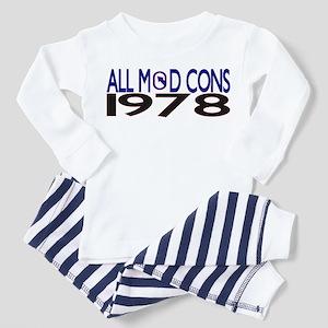 ALL MOD CONS 1978 Toddler Pajamas