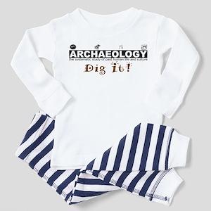 Archaeology, Dig It! Toddler Pajamas