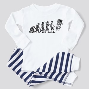 Astronaut Evolution Toddler Pajamas