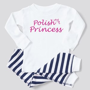 polish Princess Toddler Pajamas