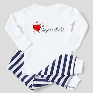 """""""I Love You"""" [Hungarian] Toddler Pajamas"""