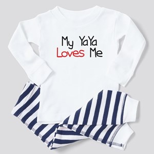 My YaYa Loves Me Toddler Pajamas