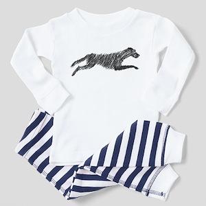 Irish Wolfhound Toddler Pajamas