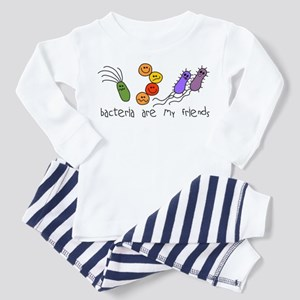 Bacteria are My Friends Toddler Pajamas