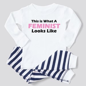 Feminist Toddler Pajamas