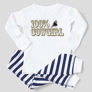 100% COWGIRL Toddler Pajamas