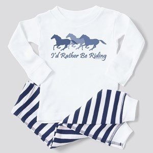 Rather Be Riding A Wild Horse Toddler T-Shi