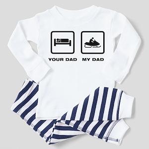 Snowmobile Toddler Pajamas