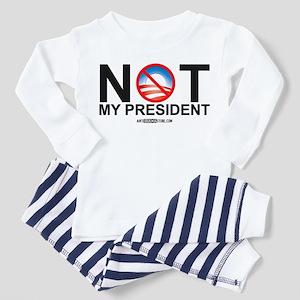 Not My President Toddler Pajamas