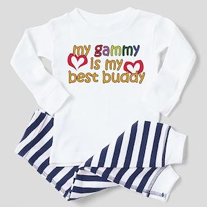Gammy is My Best Buddy Toddler Pajamas