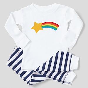 Retro Shooting Star Toddler Pajamas